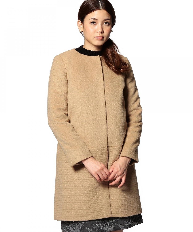 Amazon.co.jp: (ユナイテッドアローズ) UNITED ARROWS ○UAB W アルパカシャギー コンビ ノーカラーコート: 服&ファッション小物通販