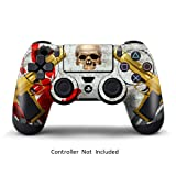 Skins for PS4 Controller - Stickers for Playstation 4 Games - Decals Cover for PS4 Slim Sony Play Station Four Controllers PS4 Pro Accessories PS4 Remote Wireless Dualshock 4 Skin - Ghost Ops (Color: Ghost Ops)
