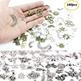Approx 180 Pieces Mixed Charms Pendants DIY for Jewelry Making and Crafting