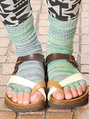【KARABISA SOCKS / カラビサソックス(アーサーミックス)】5本指ソックス 5本指開き靴下