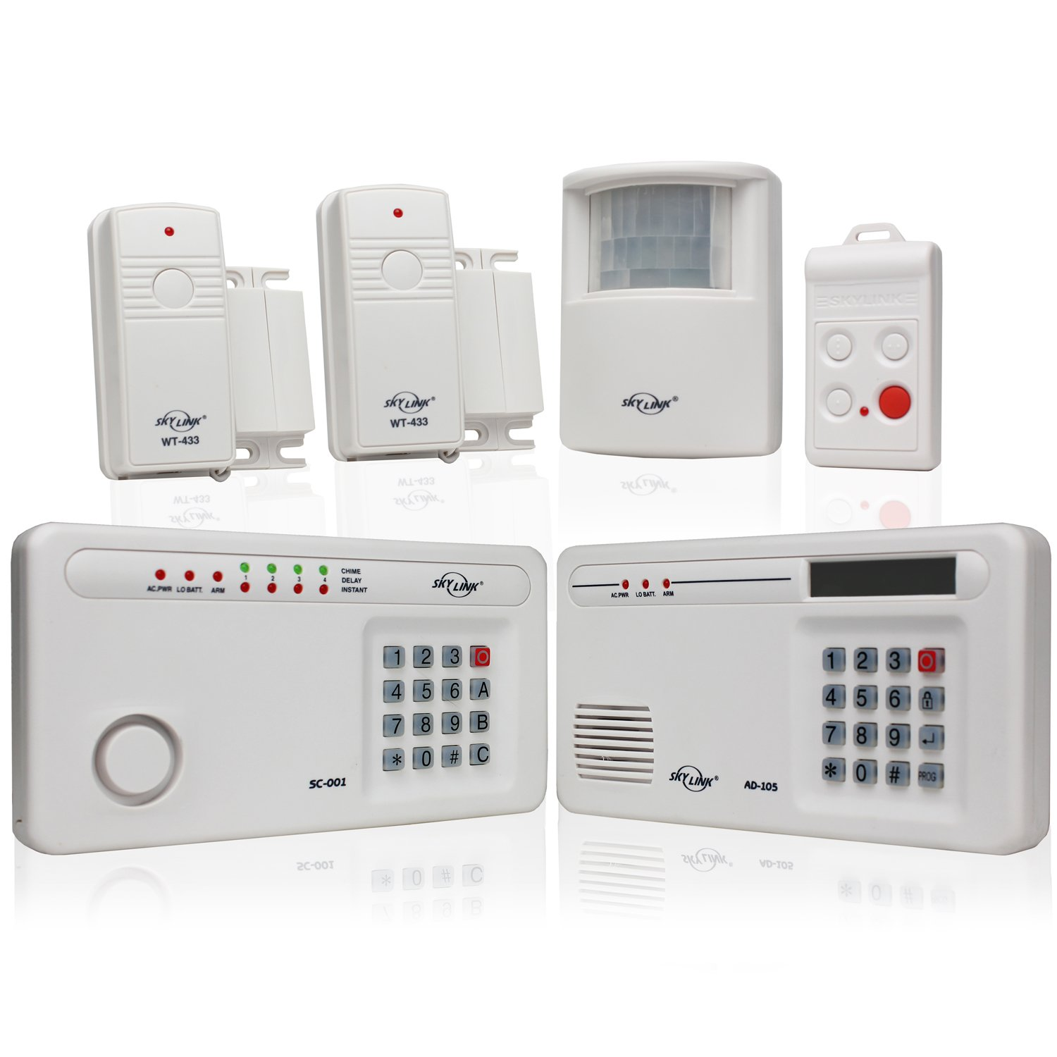 The benefits of a wireless home alarm system safe sound Best diy monitored alarm system