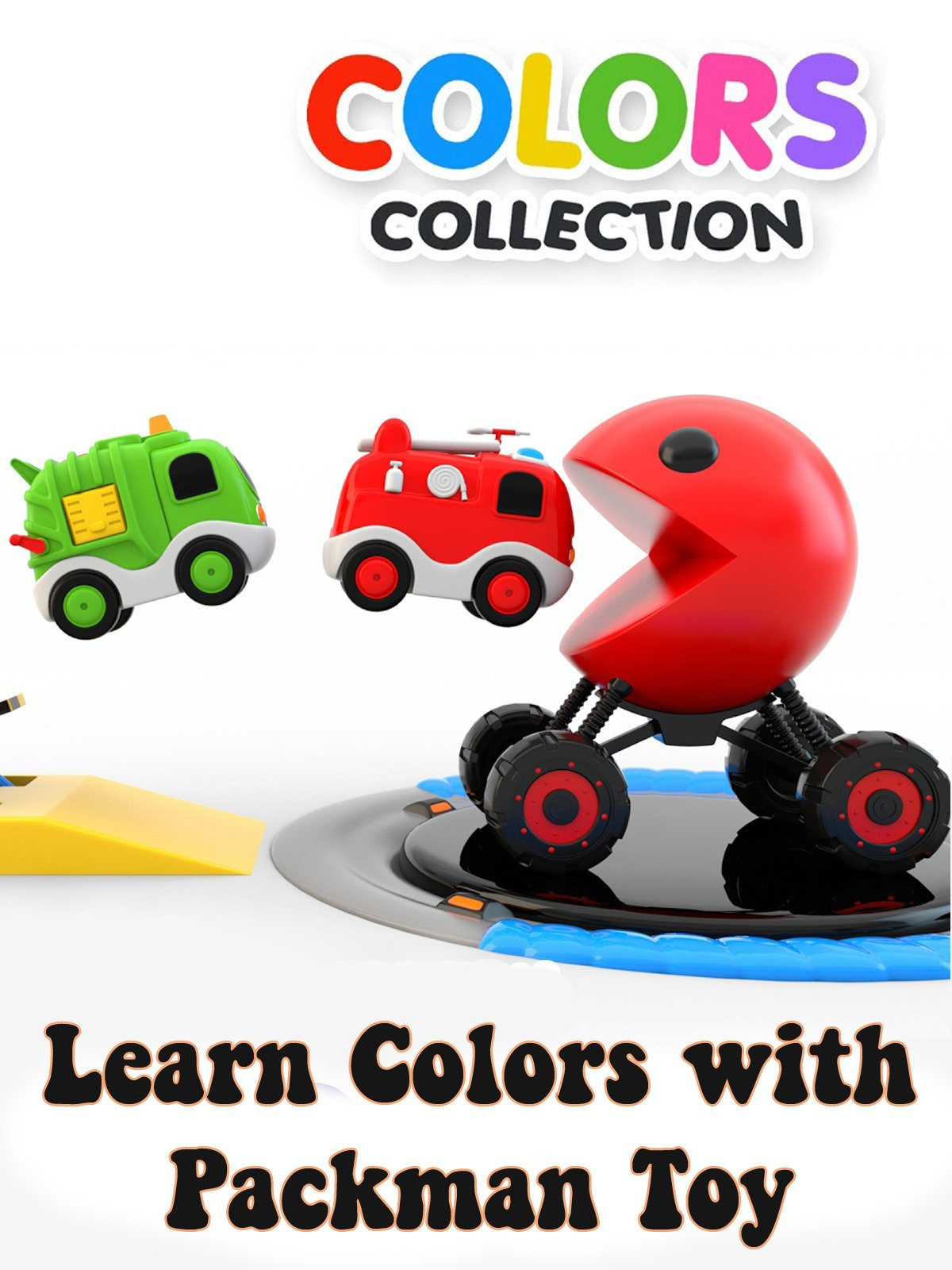 Learn Colors with Packman Toy
