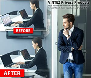 17.3 Inch - 16:9 Aspect Ratio - Laptop Privacy Screen Filter for Widescreen Laptop - Notebook - Anti-Glare - Anti-Scratch Protector Film for Data confidentiality (Tamaño: 17.3 WIDESCREEN (16:9))