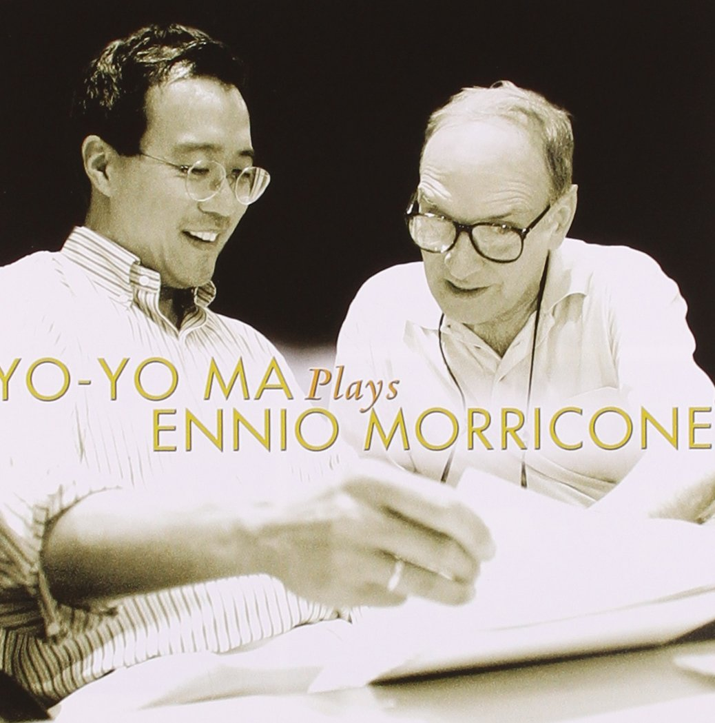 Yo-Yo Ma Plays Ennio Morricone Album Cover