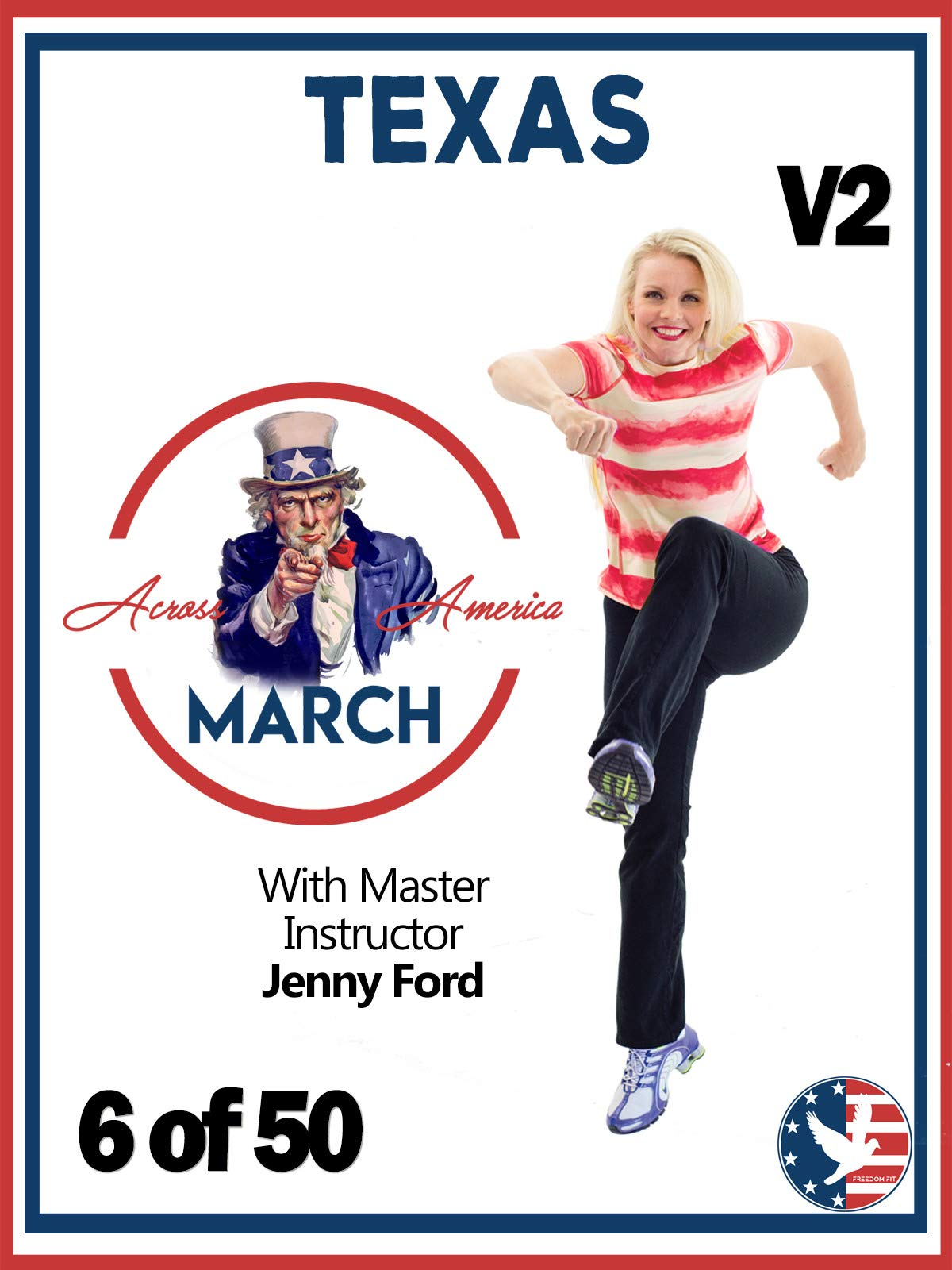 6 of 50 Texas March Across America with Jenny Ford