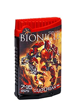 LEGO - 8979 - Jeu de construction - Bionicle Glatorian - Malum