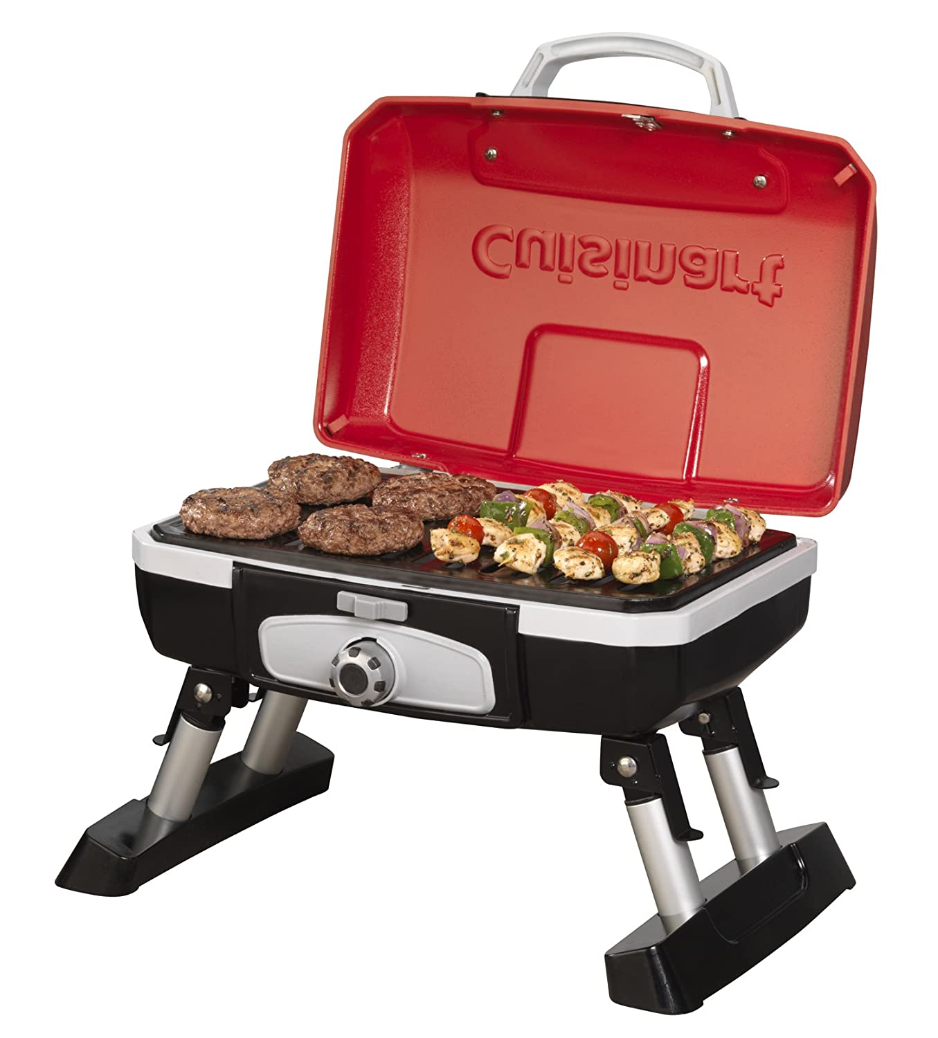 cuisinart cgg 180t petit gourmet portable tabletop gas grill bbq cooking camping ebay. Black Bedroom Furniture Sets. Home Design Ideas