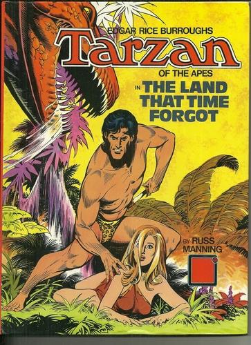 Russ Manning's European Tarzan graphic albums