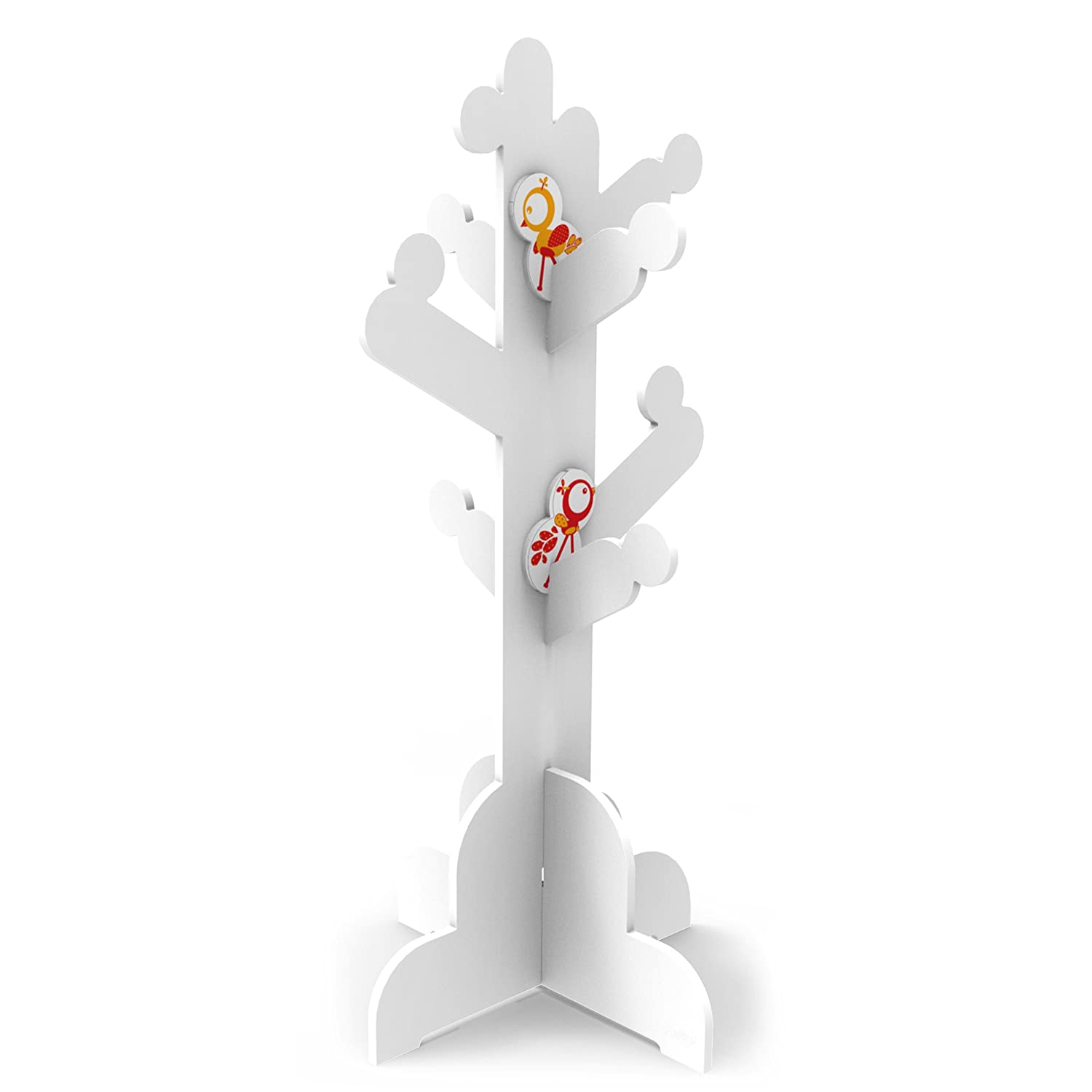 P'Kolino Little Ones Clothes Tree, White