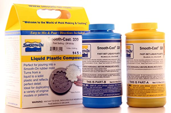 Smooth Cast 320 Liquid Plastic - Trial Unit