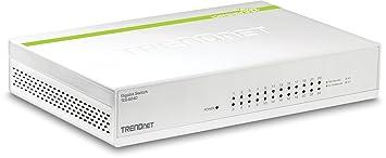 TrendNet TEG-S24D Commutateur Blanc