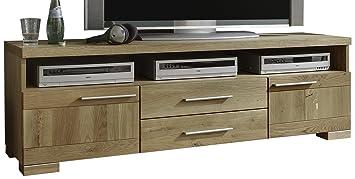 BFK Möbel Collection 895112 Lowboard Rio, 41 x 170 x 52 cm, wildeiche, geölt