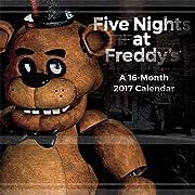 Five Nights At Freddys 2017 Calendar