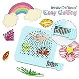 Uchada 2019 Easy Quilling Winder Grid Board (Blue) (Color: Blue)
