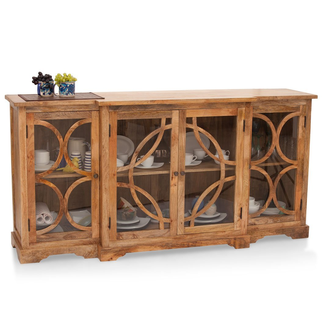 The Armchair Fremont Crockery Cabinet (Natural)