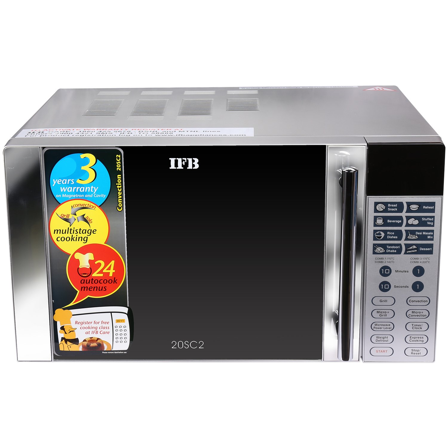 IFB 20SC2 20-Litre 1200-Watt Convection Microwave Oven