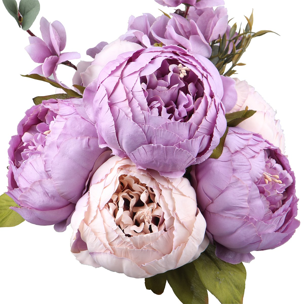 Leagel fake flowers vintage artificial peony silk flowers bouquet leagel fake flowers vintage artificial peony silk flowers bouquet wedding home decoration pack of 1 new mightylinksfo