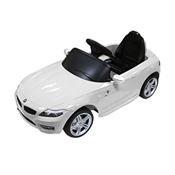 buy aosom bmw z kids v electric ride on toy car parent aosom bmw z4 kids 6v electric ride on toy car parent remote control white