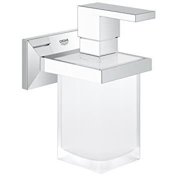 Grohe, Supporto con dispenser di sapone liquido Allure Brilliant 40494