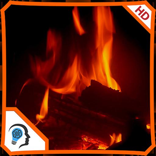 Warm Fireplace HD