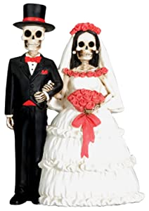 Day of the Dead Wedding Bride and Groom Figurine