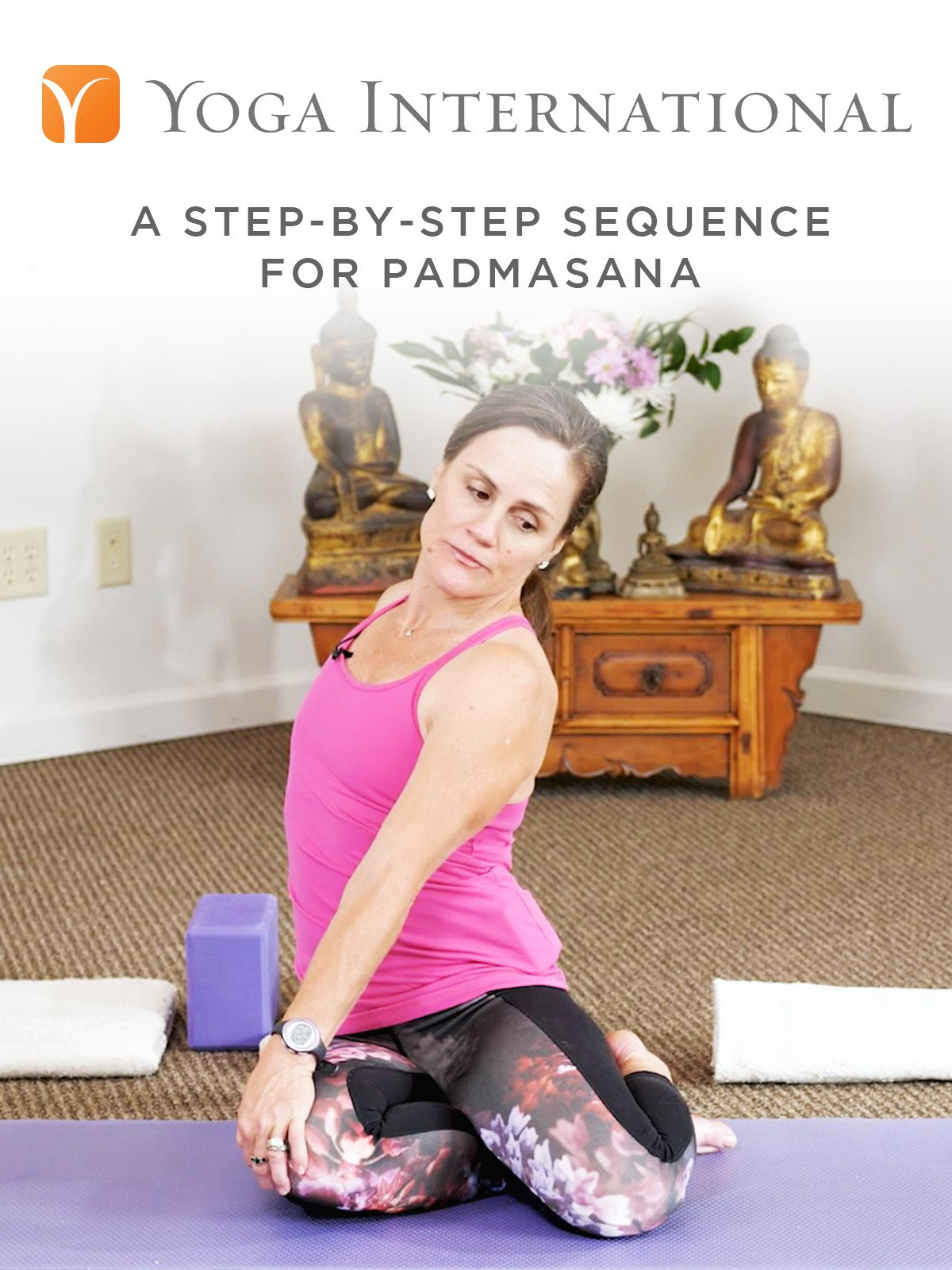 A Step-By-Step Sequence for Padmasana