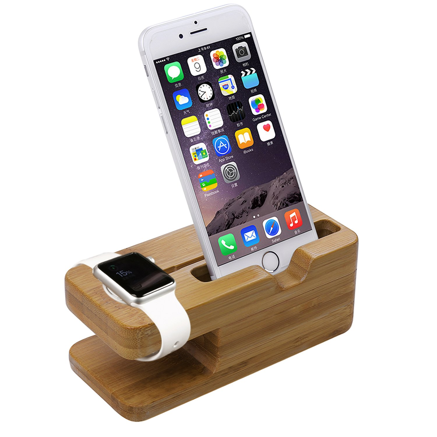 Iwatch Iphone Stand Apple Watch Stand Aerb Iwatch