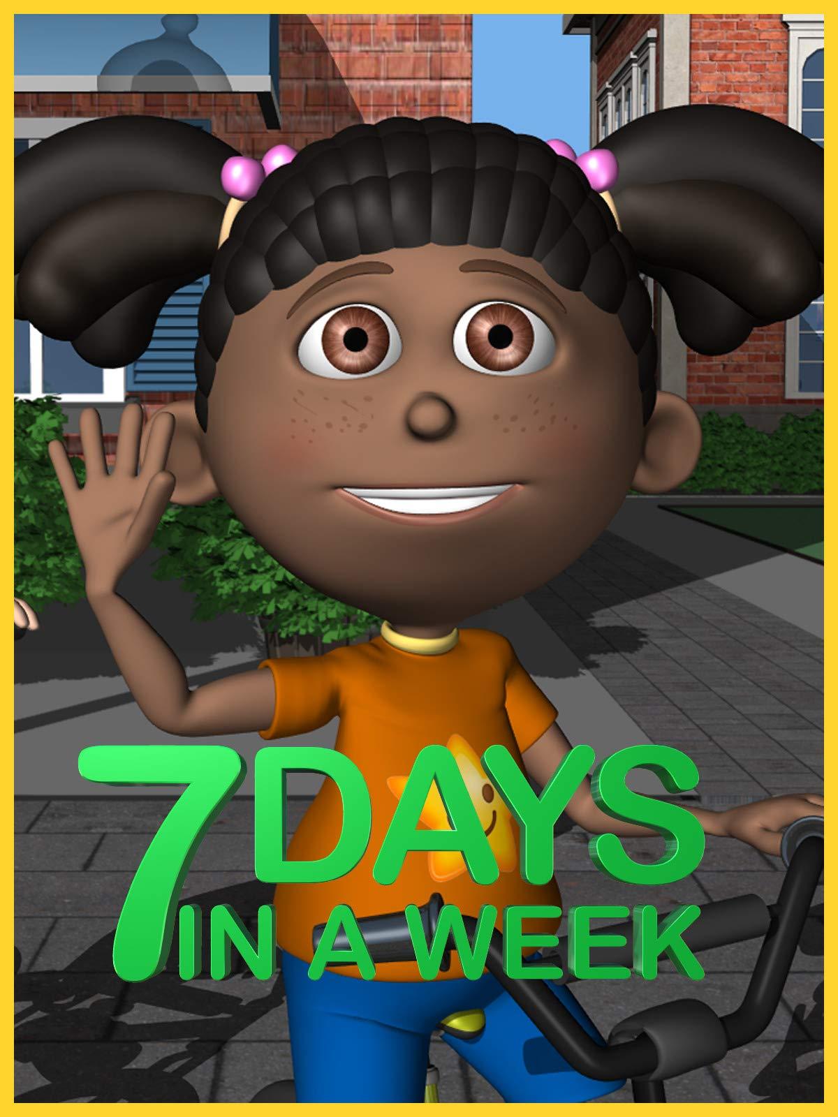 Days of the Week (7 Days in a Week): Kidspace Studios