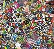 Sticker Bomb Comic Folie mit Echtem Logos 152x10cm