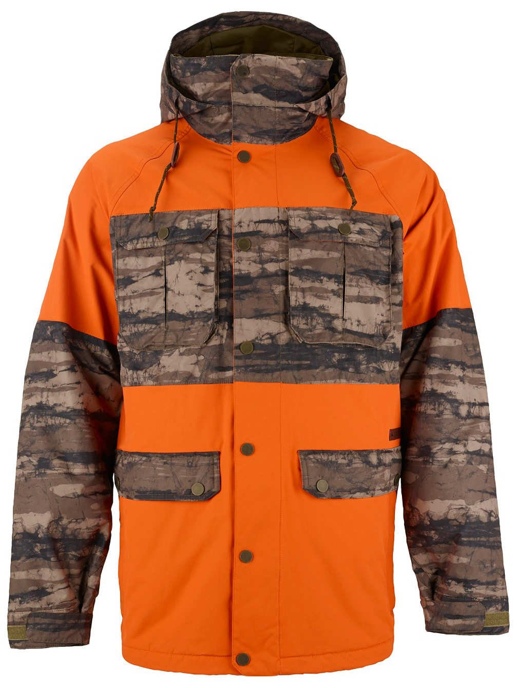 BURTON FRONTIER Jacke 2015 jersey tan/camo günstig bestellen