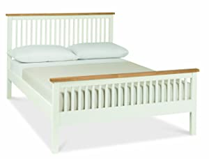 Gallery Collection Atlanta Two Tone 135cm (Double   4ft 6in) High Foot Bedstead       Customer review and more information