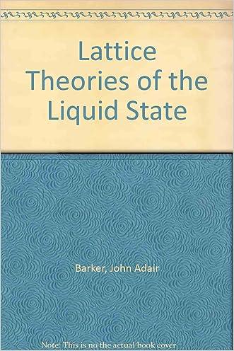 Lattice Theories of the Liquid State.