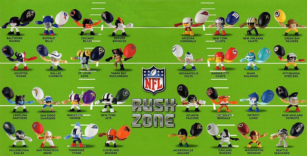 nfl rush zone toys nfl team map