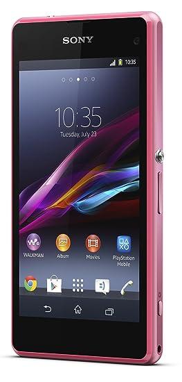 Sony Xperia Z1 Compact Smartphone débloqué Etanche 5 pouces 16 Go Appareil photo 20,7 MP Android 4.4 KitKat Rose