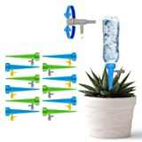 [New Upgrade] GOSETH Automatic Drip Irrigation Watering Devices[12 Pack]. Plant Waterer Self Watering Spike Vacation Plant Watering.Slow Release Switch Control Valve Care Your Indoor & Outdoor Plants