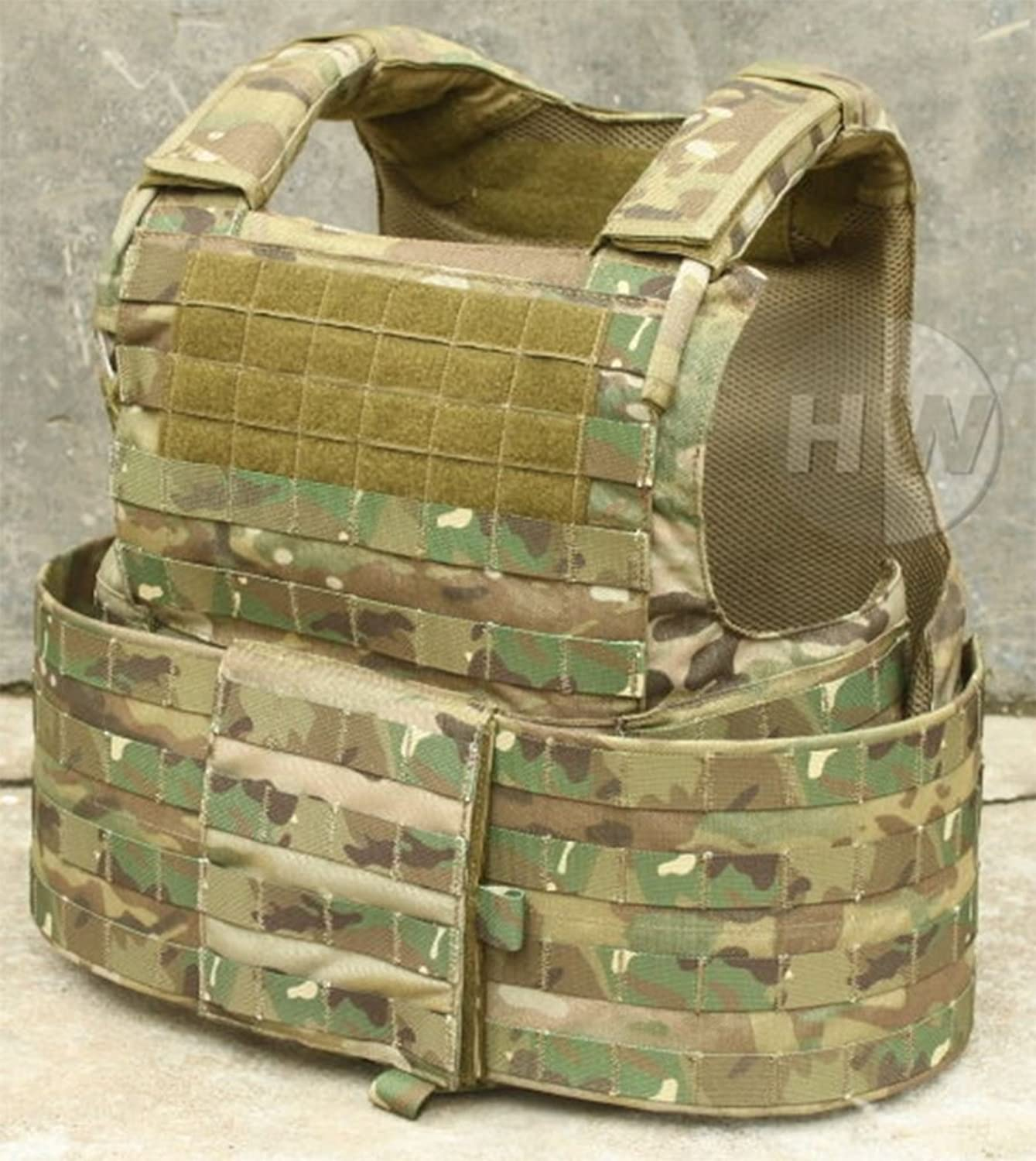 AIRSOFT CIR FORCE RECON ANGRIFF WESTE MOLLE BRUST RIG MULTICAM MTP PARACLETE RAV
