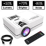 WONNIE Projector, Mini Projector 2200 Lumens 170