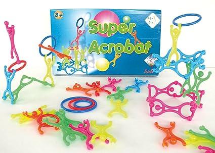 Jeu de construction pour enfant Super Acrobates 50 pièces - Ludus