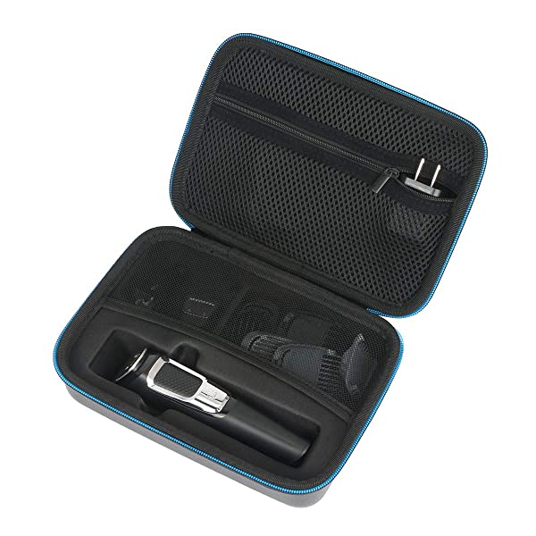 Baval Hard Case for Philips Norelco Multi Groomer MG5750/49 / MG3750/50-13 piece, ear hair trimmer clipper