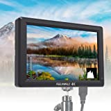 """Feelworld T756 Camera Monitor 7"""" 4K IPS HDMI Ultra HD 1920x1200 HD Input/ Output with Histogram Focus Assist Check Field Pixel to Pixel for DSLR Camera Camcorder Camcorder Kit, Perfect monitor"""