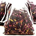 FRANGIPANI GARDENIA JASMINE 4 x Scented Bath Tea Sachets & BONUS 12ml Booster Fragrance Oil