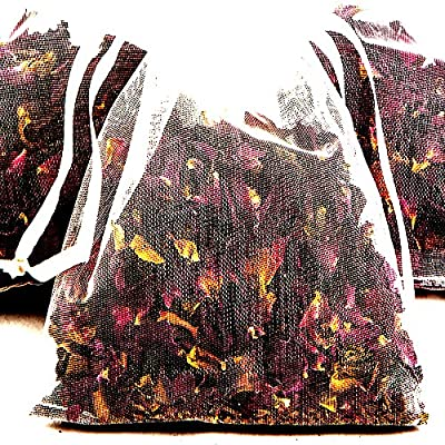 VINEYARD GRAPES 4 x Scented Bath Tea Sachets & BONUS 12ml Booster Fragrance Oil