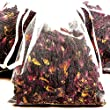 BLACK LICORICE 4 x Scented Bath Tea Sachets & BONUS 12ml Booster Fragrance Oil