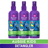 Aussie Kids Detangler, Finding Dory, Blloomin' Apple, 8 fl oz, Triple Pack (Color: Kids Detangler (Pack of 3), Tamaño: 8 Ounces)