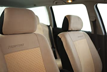 Schwarz-graue Dreiecke Classic Sitzbezüge  MERCEDES B-KLASSE Autositzbezug Set