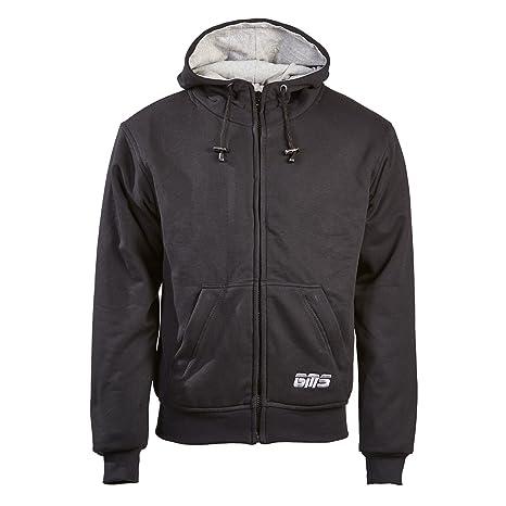 Germas 392. 01-56-2XL Kevlar Trevor veste à capuche entièrement doublé 1/1 avec Protektorentaschen-noir-taille XXL