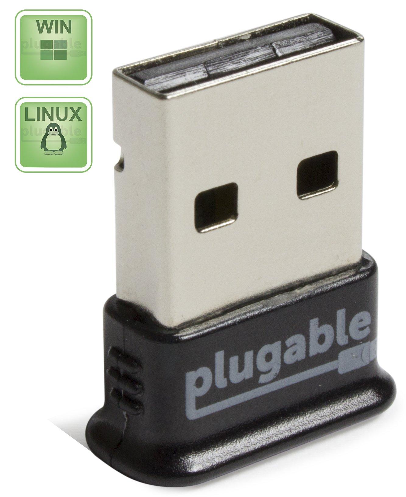 Plugable USB Bluetooth 4.0 Low Energy Micro Adapter (Windows 10 8.1 8 7 Raspb