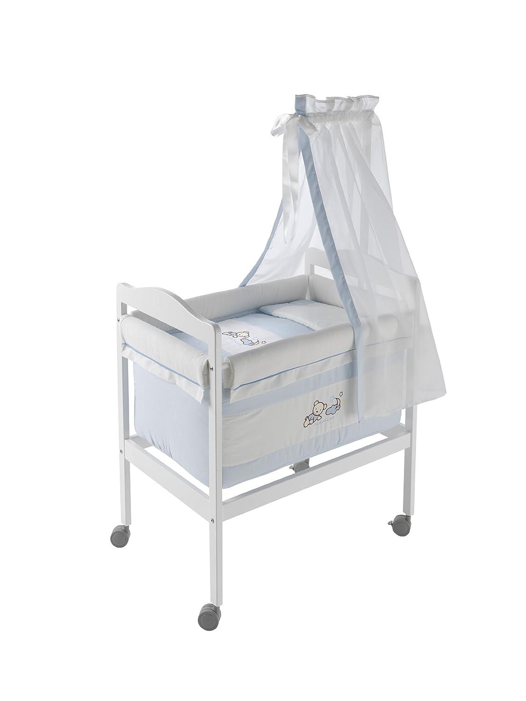 Naf-Naf 30603 Wiege Square und Moskitonetz Design Teddy Azul, 50% Baumwolle 50% Polyester jetzt kaufen