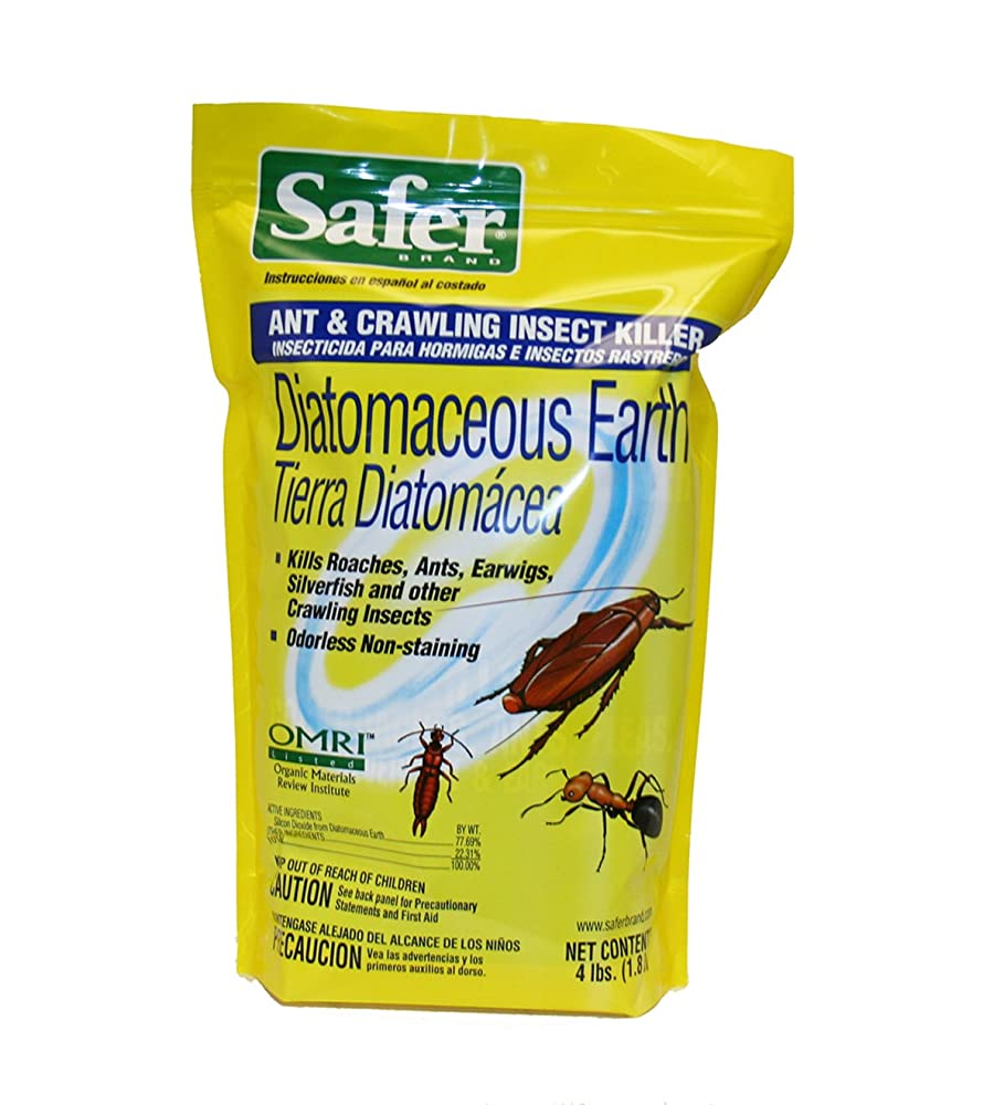 Safer Brand Diatomaceous Earth Bed Bugs