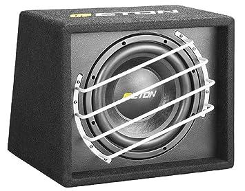 """ETON force 10-600 25 cm 10 """"- caisse caisson de basses 450 w boîtier bassbox voiture"""